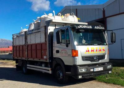 transporte aridos arias y sojo
